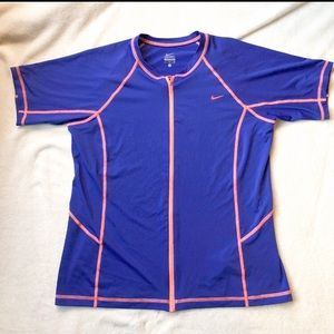 Nike Women's Full Zipper Athletic Top Size XL